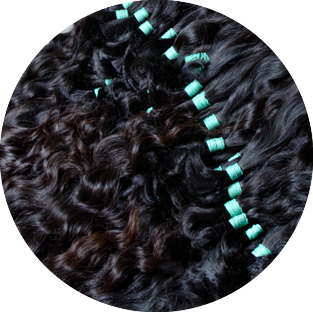 Asian Wavy Hair. Sell natural human hair